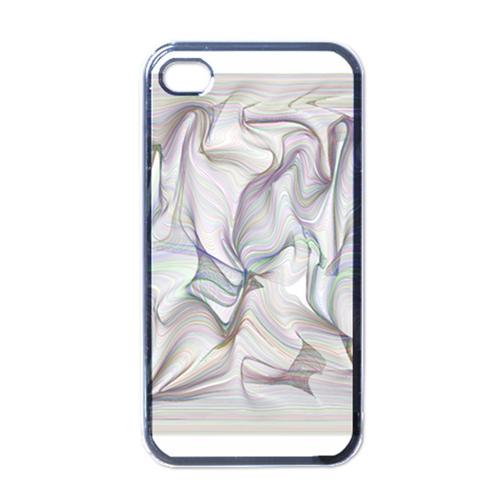 Abstract Background Chromatic Apple iPhone 4 Case (Black)