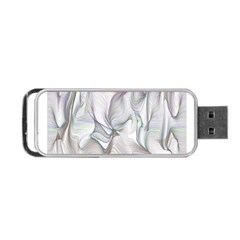 Abstract Background Chromatic Portable Usb Flash (two Sides) by Amaryn4rt