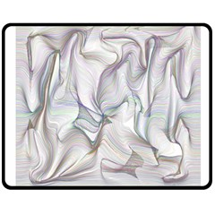Abstract Background Chromatic Double Sided Fleece Blanket (medium)