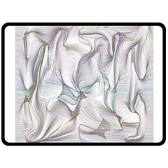 Abstract Background Chromatic Double Sided Fleece Blanket (large)