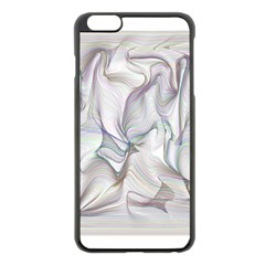 Abstract Background Chromatic Apple Iphone 6 Plus/6s Plus Black Enamel Case