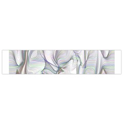Abstract Background Chromatic Flano Scarf (small)