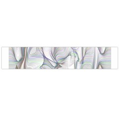 Abstract Background Chromatic Flano Scarf (large)