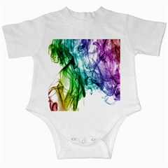 Colour Smoke Rainbow Color Design Infant Creepers