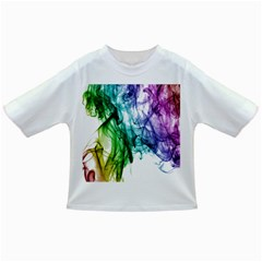 Colour Smoke Rainbow Color Design Infant/toddler T Shirts