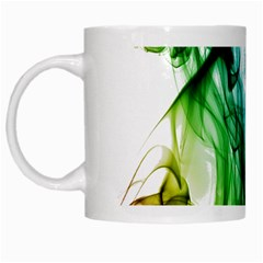 Colour Smoke Rainbow Color Design White Mugs