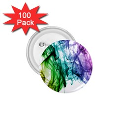 Colour Smoke Rainbow Color Design 1 75  Buttons (100 Pack)