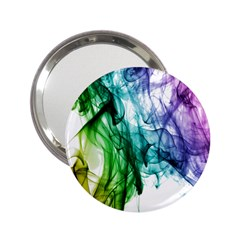 Colour Smoke Rainbow Color Design 2 25  Handbag Mirrors by Amaryn4rt