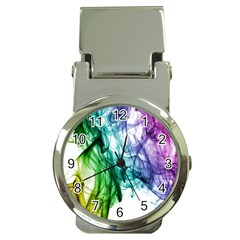 Colour Smoke Rainbow Color Design Money Clip Watches by Amaryn4rt