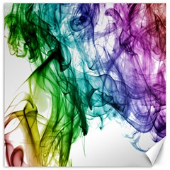 Colour Smoke Rainbow Color Design Canvas 12  X 12