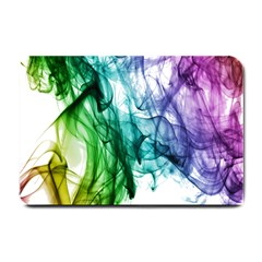 Colour Smoke Rainbow Color Design Small Doormat  by Amaryn4rt