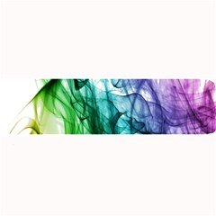 Colour Smoke Rainbow Color Design Large Bar Mats by Amaryn4rt