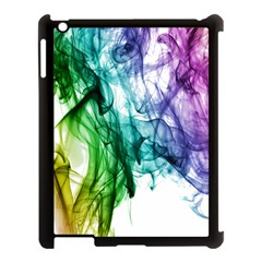 Colour Smoke Rainbow Color Design Apple Ipad 3/4 Case (black)