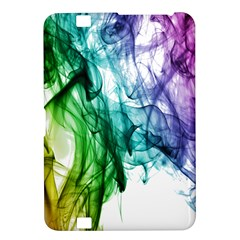 Colour Smoke Rainbow Color Design Kindle Fire Hd 8 9  by Amaryn4rt