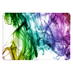 Colour Smoke Rainbow Color Design Samsung Galaxy Tab 8 9  P7300 Flip Case