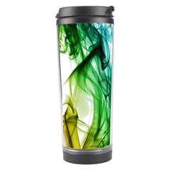 Colour Smoke Rainbow Color Design Travel Tumbler