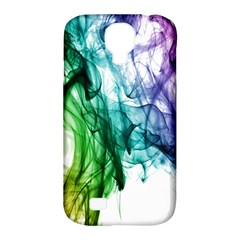 Colour Smoke Rainbow Color Design Samsung Galaxy S4 Classic Hardshell Case (pc+silicone)