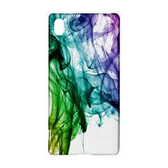 Colour Smoke Rainbow Color Design Sony Xperia Z3+ by Amaryn4rt