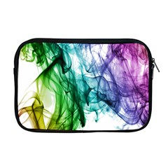 Colour Smoke Rainbow Color Design Apple Macbook Pro 17  Zipper Case