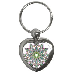 Decorative Ornamental Design Key Chains (heart)