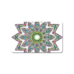 Decorative Ornamental Design Magnet (name Card)