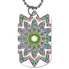 Decorative Ornamental Design Dog Tag (two Sides)