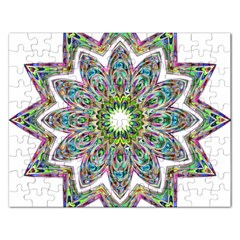 Decorative Ornamental Design Rectangular Jigsaw Puzzl