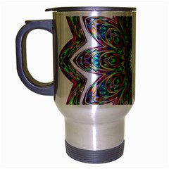 Decorative Ornamental Design Travel Mug (silver Gray)