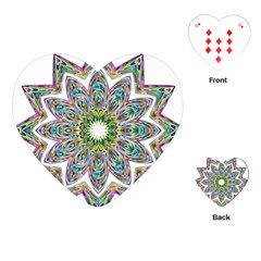 Decorative Ornamental Design Playing Cards (heart)