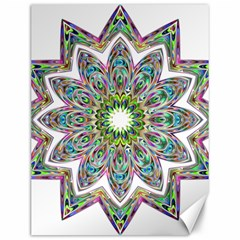 Decorative Ornamental Design Canvas 12  X 16