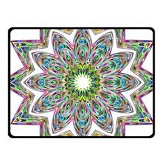 Decorative Ornamental Design Fleece Blanket (small)