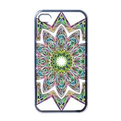 Decorative Ornamental Design Apple Iphone 4 Case (black)