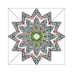 Decorative Ornamental Design Acrylic Tangram Puzzle (6  X 6 )