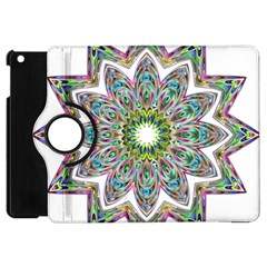 Decorative Ornamental Design Apple Ipad Mini Flip 360 Case