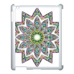 Decorative Ornamental Design Apple Ipad 3/4 Case (white)