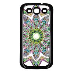 Decorative Ornamental Design Samsung Galaxy S3 Back Case (black)
