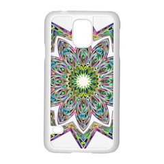 Decorative Ornamental Design Samsung Galaxy S5 Case (white)