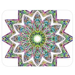 Decorative Ornamental Design Double Sided Flano Blanket (medium)