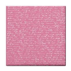 Handwriting  Face Towel by Valentinaart