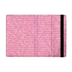 Handwriting  Apple Ipad Mini Flip Case by Valentinaart