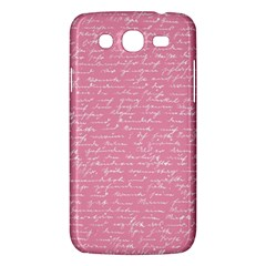 Handwriting  Samsung Galaxy Mega 5 8 I9152 Hardshell Case  by Valentinaart