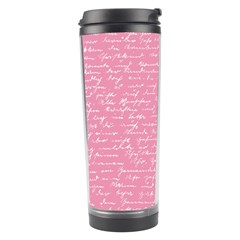 Handwriting  Travel Tumbler by Valentinaart