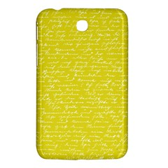 Handwriting  Samsung Galaxy Tab 3 (7 ) P3200 Hardshell Case  by Valentinaart