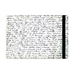 Handwriting  Apple Ipad Mini Flip Case by Valentinaart