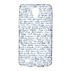 Handwriting  Galaxy S4 Active by Valentinaart