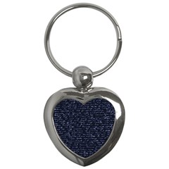 Handwriting Key Chains (heart)  by Valentinaart