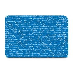 Handwriting Plate Mats by Valentinaart