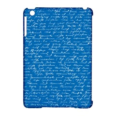 Handwriting Apple Ipad Mini Hardshell Case (compatible With Smart Cover) by Valentinaart