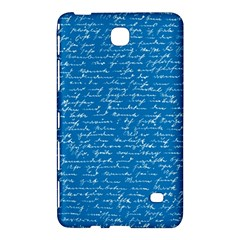 Handwriting Samsung Galaxy Tab 4 (8 ) Hardshell Case  by Valentinaart
