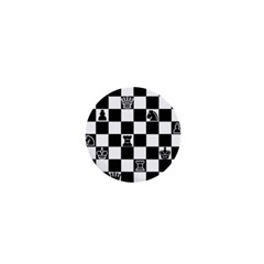 Chess 1  Mini Buttons by Valentinaart